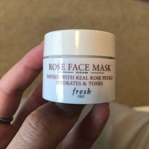Fresh Rose Face Mask Mini Sample